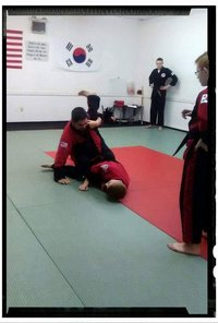 Teaching form applications to black belts